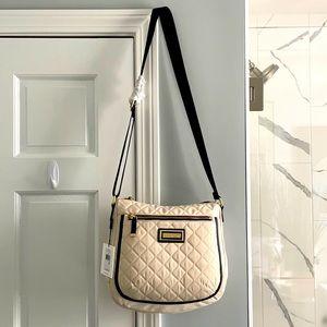 NWT Cream Calvin Klein Crossbody Messenger Bag